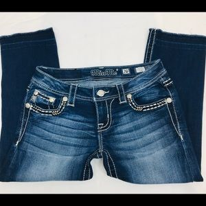 Miss Me jeans- Signature Capri - Women's size 26